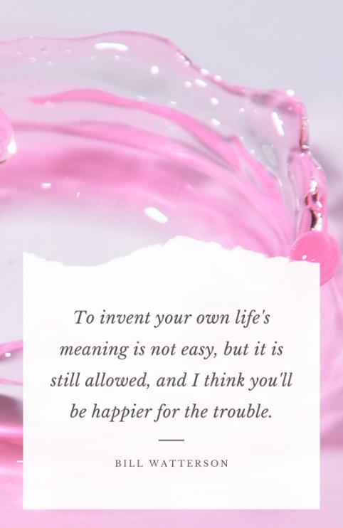 Bewust Leven, Persoonlijke ontwikkeling